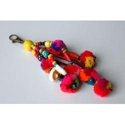 Schlüsselanhänger Taschenanhänger mit Muschel