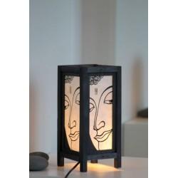 Lampe Thailand Gesicht Buddha 28 cm Höhe