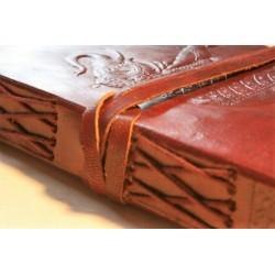 Notizbuch Tagebuch mit Elefantenmotiv 15x11 cm