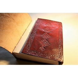 Notebook diary with elephant motif 15x11 cm