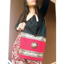 Schultertasche Tasche im Boho-Stil aus Thailand - TASCHE110