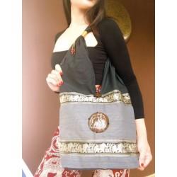 Shoulder bag bag in boho style from Thailand