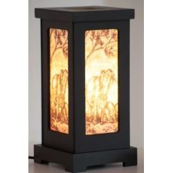 Lampe aus Thailand einfacher Aufbau - LICHT205