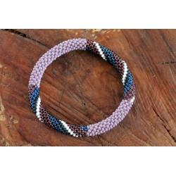 Bracelet glass beads handmade in Nepal - ARMBAND002