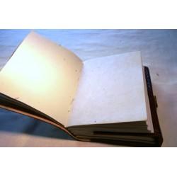 Notizbuch / Tagebuch mit Blumenmuster 15x11 cm