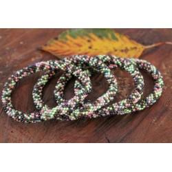 Bracelet glass beads handmade in Nepal - ARMBAND014