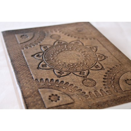Notizbuch Antique Look 21x16 cm