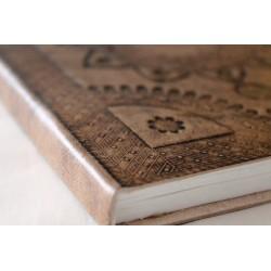 Notizbuch Antik Look 21x16 cm