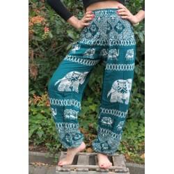 Haremshose Yogahose Hippiehose Elefant Größe S / M - HOSE025