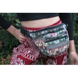Hip bag, fanny pack, hip bag, cheerful pattern