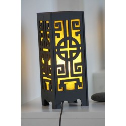 2nd choice: lamp from Thailand, construction with 4 screws - LICHT230