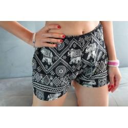 Shorts fabric elephants size S / M