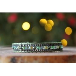 Elegantes Armband im Bohemian Stil mit kleinen Steinperlen