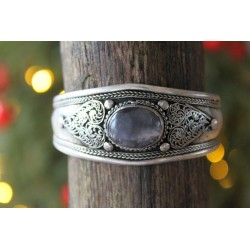 B-goods: Bangle from Nepal with heart ornament