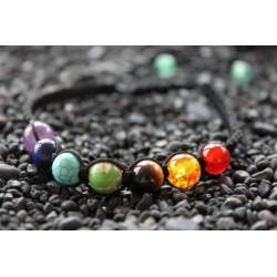 Chakra bracelet yoga bracelet adjustable in size