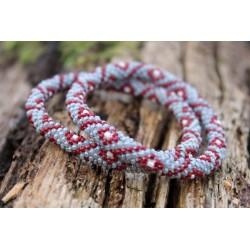 Armband Glasperlen handgefertigt in Nepal - ARMBAND019