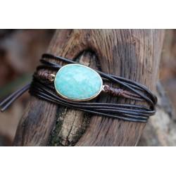Multilayer Wrap Bracelet Wrap Bracelet Amazonite Boho Friendship Bracelet