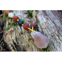 Halskette mit Natursteinen für spirituelle Energie