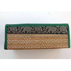 Tissue box / wipes box / cosmetic tissue box in Thai style elephant pattern