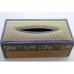 Tissue Box / Tücher Box / Kosmetiktücherbox im Thai-Stil Elefantenmuster - Tissue029