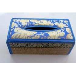 Tissue Box / Tücher Box / Kosmetiktücherbox im Thai-Stil Elefantenmuster - Tissue031