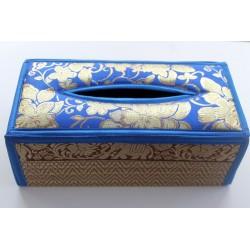 Tissue Box / Tücher Box / Kosmetiktücherbox im Thai-Stil Elefantenmuster - Tissue032