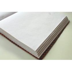 Hochzeitsbuch / Lederalbum mit Stein 34x26 cm
