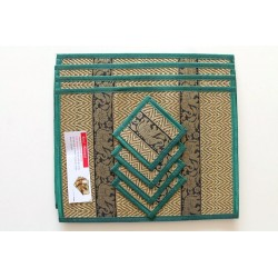 4 place mat including coaster