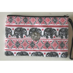 copy of Purse / toiletry bag elephant made of fabric