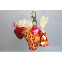 Schlüsselanhänger Taschenanhänger Pferd - HÄNGEDECO5017