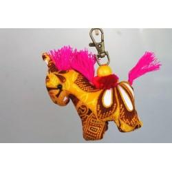 Schlüsselanhänger Taschenanhänger Pferd - HÄNGEDECO5019