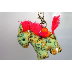 Schlüsselanhänger Taschenanhänger Pferd - HÄNGEDECO5020