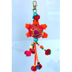 Schlüsselanhänger Taschenanhänger Geschenkanhänger Schildkröte Orange