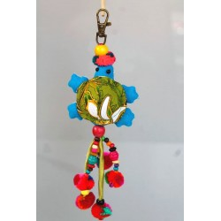 Schlüsselanhänger Taschenanhänger Geschenkanhänger Schildkröte Blau