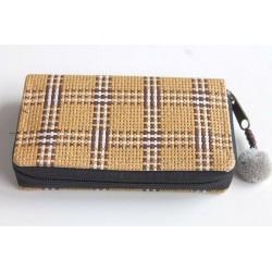Geldbörse Brieftasche Portemonnaie mittelgroß Natur Bambus - BÖRSE670