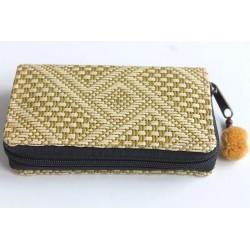 Geldbörse Brieftasche Portemonnaie mittelgroß Natur Bambus - BÖRSE671