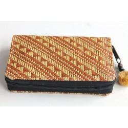 Geldbörse Brieftasche Portemonnaie mittelgroß Natur Bambus - BÖRSE675