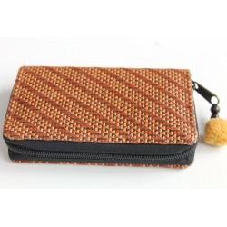 Geldbörse Brieftasche Portemonnaie mittelgroß Natur Bambus - BÖRSE677