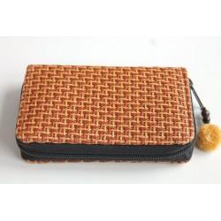 Geldbörse Brieftasche Portemonnaie mittelgroß Natur Bambus - BÖRSE678