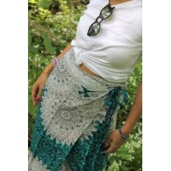 copy of Sarong wrap robe pareo