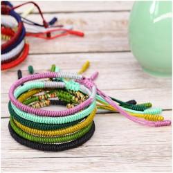 Tibetan happiness bracelet handmade Buddhism