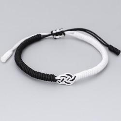 copy of Tibetan luck bracelet lucky knot Buddhism in black