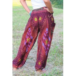 Harem pants, yoga pants, hippie pants, size S / M