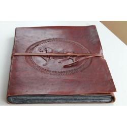 copy of 2. Wahl: Fotoalbum Leder mit Pferde Motiv 34x27 cm