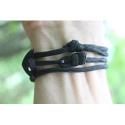 Anchor bracelet bracelet with anchor black