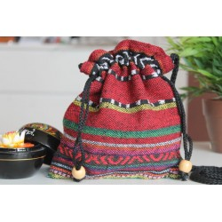 copy of Sack pouch made of fabric Hmong / Hill Tribe