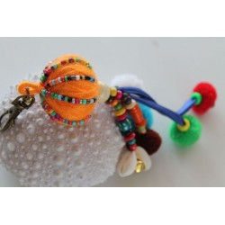 copy of Keychain bag charms ball of wool 22 cm