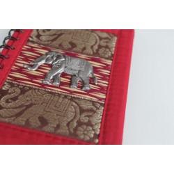 copy of Notebook natural fiber Thailand elephant spiral binding 15x11 cm