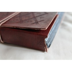 2. Wahl: Fotoalbum Ledereinband 27x18 cm - schwarze Seiten