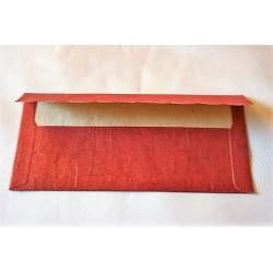 Kuvert handbemalt, verschiedene Farben